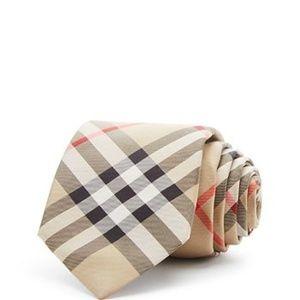Burberry Manston Vintage Check Silk Classic Tie